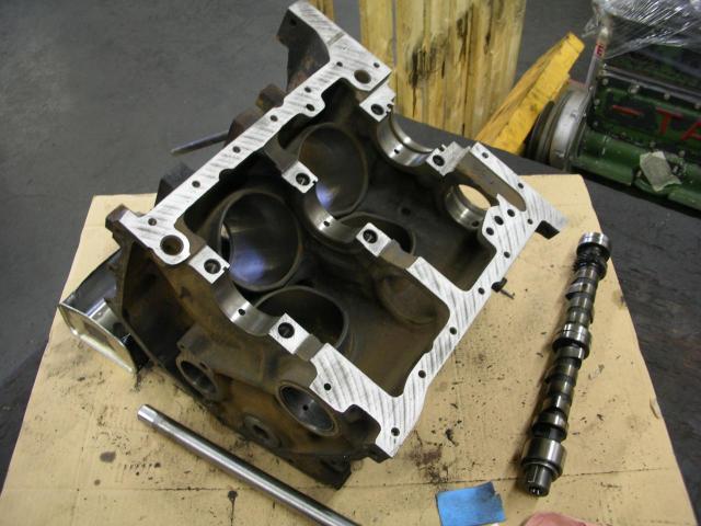 Remise à neuf du moteur