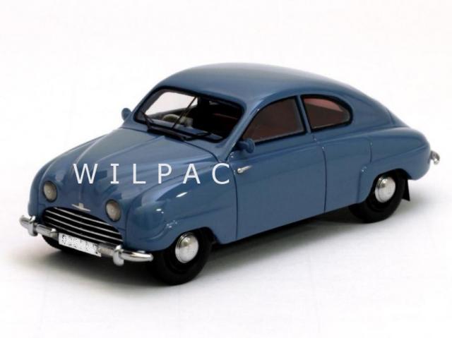 SAAB 92 B 1952 bleu gris 43éme