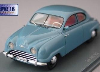 SAAB 92 B bleue 1952 43éme