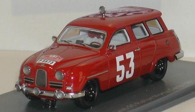SAAB 95 1961 Monte Carlo 43éme Fabrication Néo