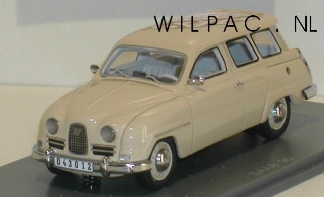 SAAB 95 1964 beige 43éme