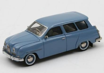 SAAB 95 1964 bleu clair 43éme