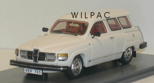 SAAB 95 GL 1979 blanche 43éme