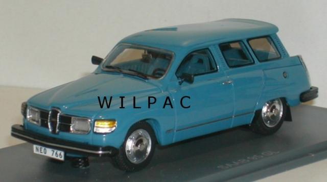 SAAB 95 GL 1979 bleu 43éme