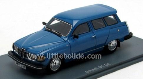 SAAB 95 GL bleue 43éme
