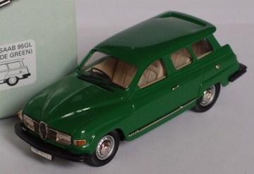 SAAB 95 GL jade green 43éme