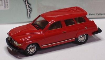 SAAB 95 GL rouge 43éme