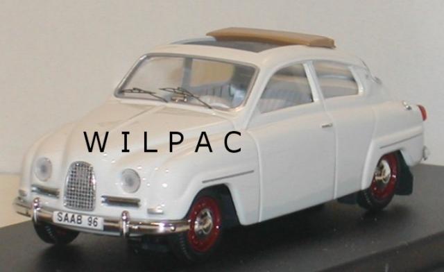 SAAB 96 1960 blanche toit ouvrant 43éme