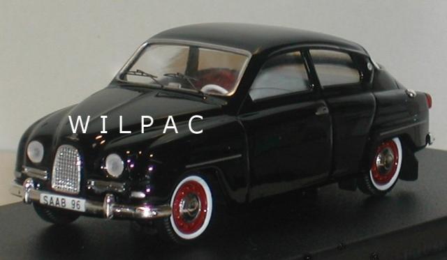 SAAB 96 1960 noire 43éme
