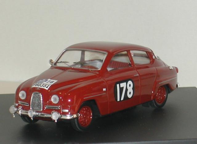 SAAB 96 1960 RAC Rally 43éme