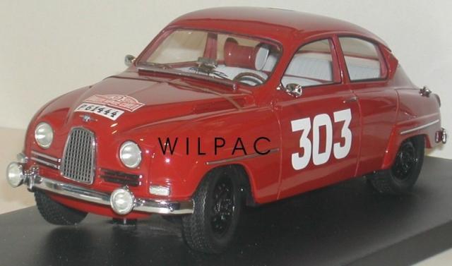 SAAB 96 1962 Monte Carlo 18éme