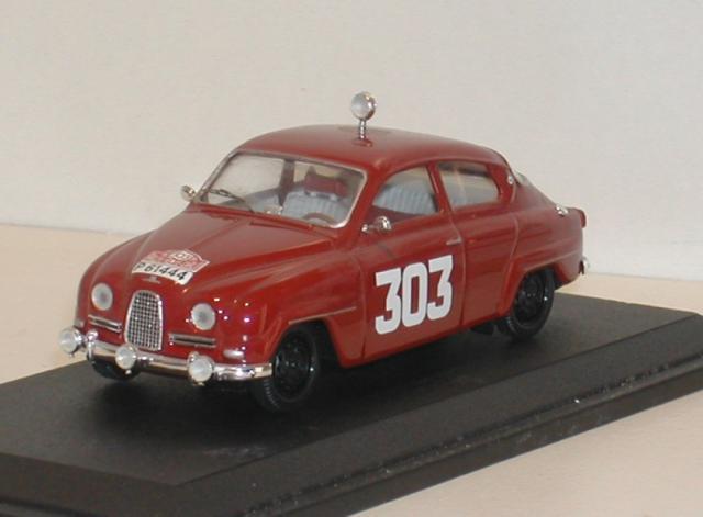 SAAB 96 1962 Monte Carlo 43éme