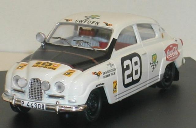 SAAB 96 1964 African Safari Rally 43éme