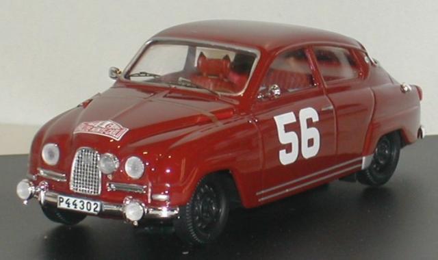 SAAB 96 1964 Monte Carlo 43éme