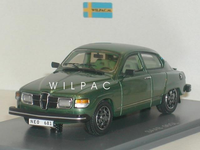 SAAB 96 1979 vert métallisé 43éme