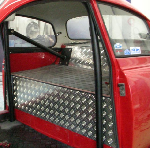 Aménagement AR pour gros réservoir d'essence